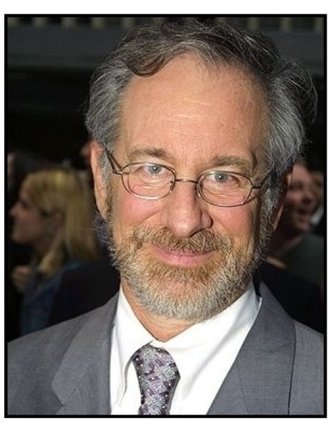 Steven Spielberg at the Minority Report premiere