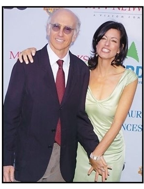 """Larry David and wife Laurie at the NRDC's """"Earth to L.A.!-The Greatest Show on Earth"""" Benefit"""
