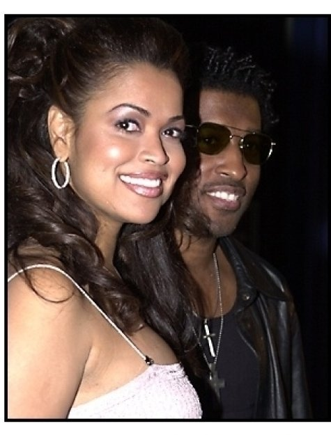 """Kenneth """"Babyface"""" Edmonds and Tracey Edmonds at the Josie and the Pussycats premiere"""