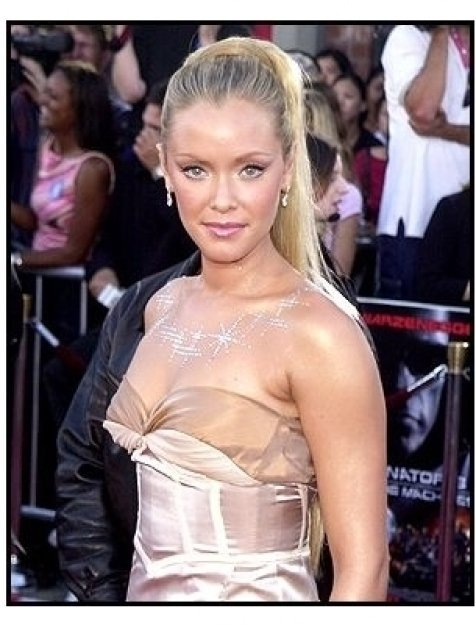 "Kristanna Loken at the ""Terminator 3: Rise of the Machines"" premiere"
