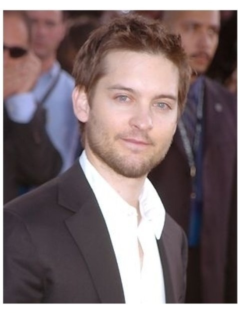 """Tobey Maguire at the """"Spider-Man 2"""" Premiere"""