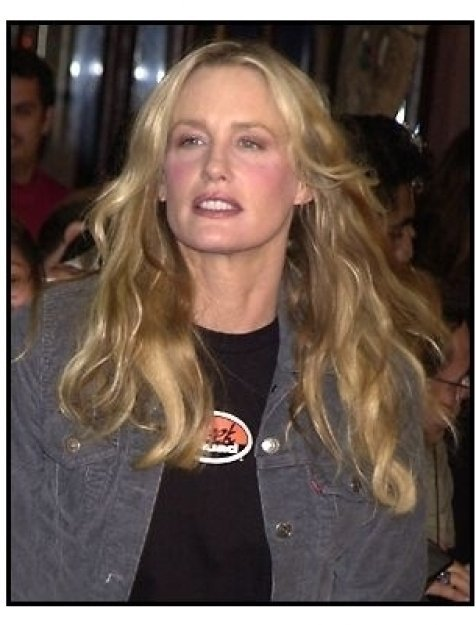 Daryl Hannah at the Harry Potter Premiere