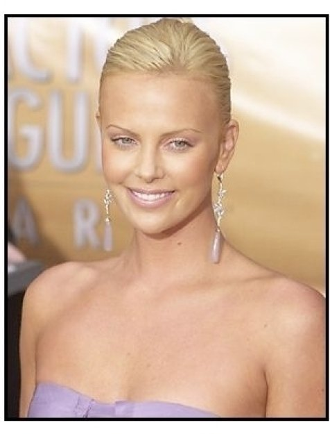 10th Annual SAG Awards -Charlize Theron- Red Carpet