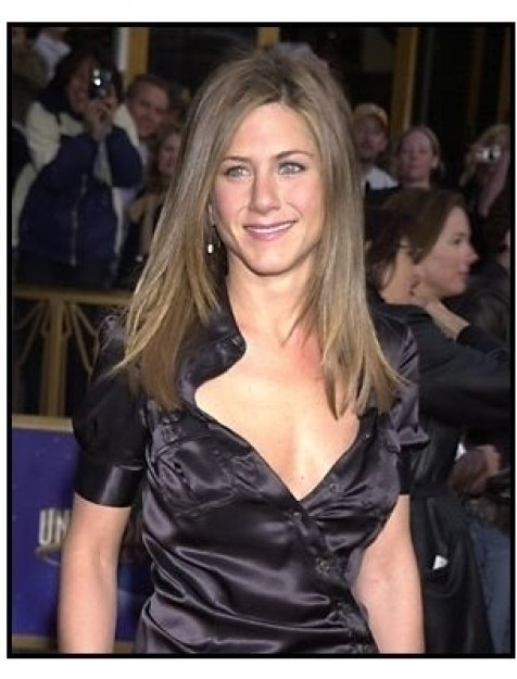 "Jennifer Aniston at the ""Bruce Almighty"" premiere"
