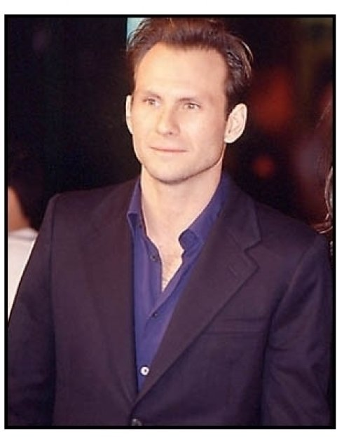 Christian Slater at the Family Man Premiere
