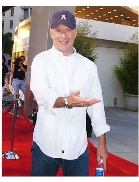 "Bruce Willis at ""The Bourne Supremacy"" Premiere"