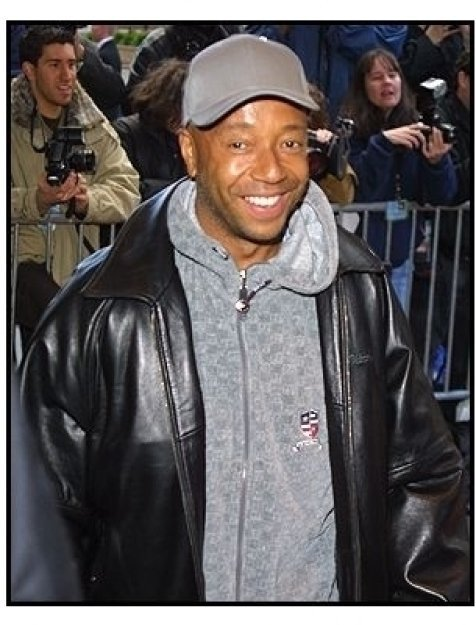 Russell Simmons at the Enough premiere