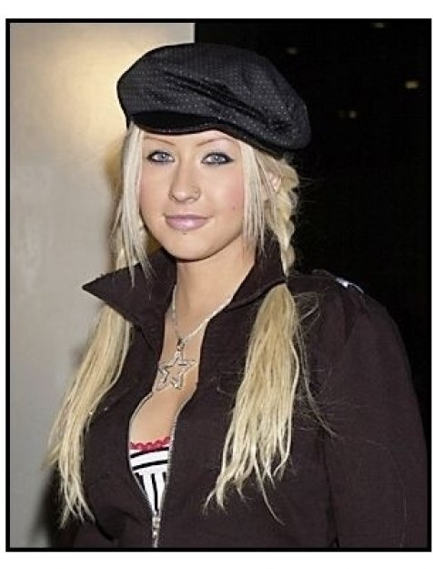 "Christina Aguilera at the ""Spun"" Premiere"