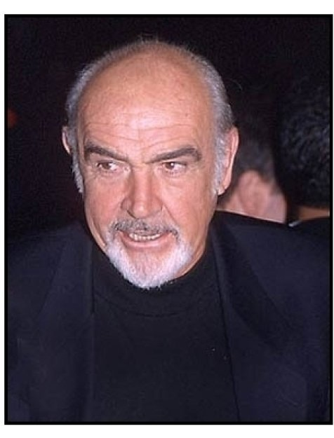 Sean Connery at the Finding Forrester premiere