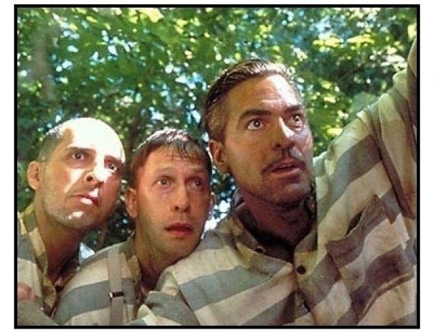 """George Clooney, John Turturro and Tim Blake in """"O Brother, Where Art Thou?"""""""