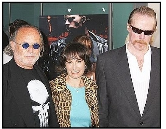 "(L-R) Avi Arad, Gale Anne Hurd, and director/writer Jonathan Hensleigh at ""The Punisher"" Premiere"