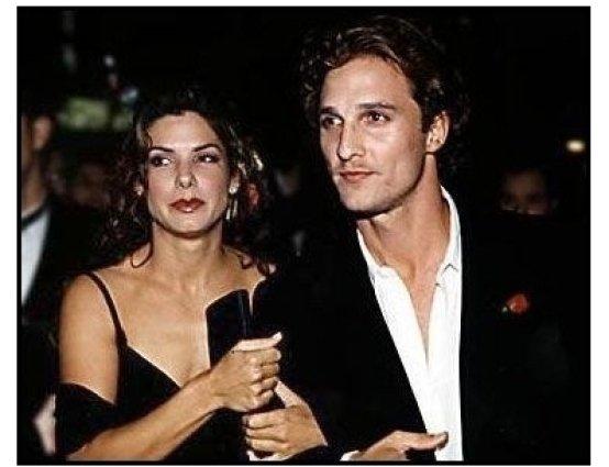 In Love and War premiere: Sandra Bullock and Matthew McConaughey at the In Love and War premiere
