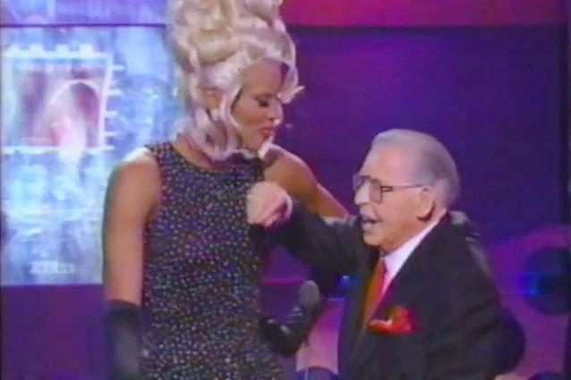 Milton Berle Fondles RuPaul MTV VMA