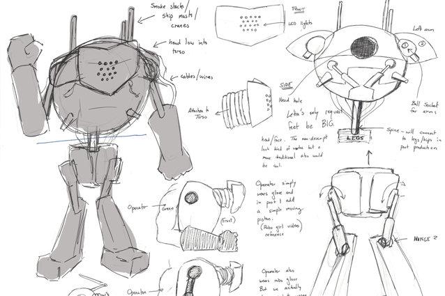 'Broken Toy' Behind the Scenes - Sketches