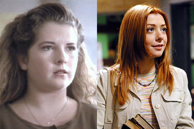Riff Regan, Alyson Hannigan, Buffy the Vampire Slayer
