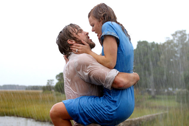 The Notebook, Ryan Gosling and Rachel McAdams