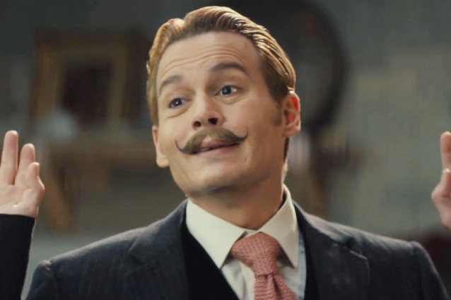 'Mortdecai' Official Trailer