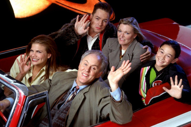 3rd Rock From The Sun, John Lithgow, Kristen Johnston, French Stewart, Joseph Gordon-Levitt, Jane Curtin